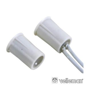 Contacto Magnético 0.5A 100V DC Norm Fechado C/ Cabo 25cm - (HAA306)