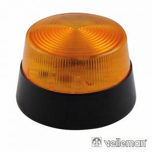 Flash Electrónico Âmbar 15 LEDS VELLEMAN - (HAA40AN)