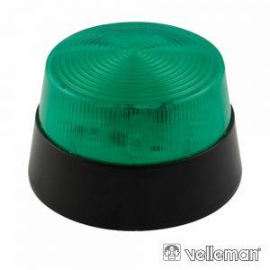 Flash Electrónico Verde 15 LEDS VELLEMAN - (HAA40GN)