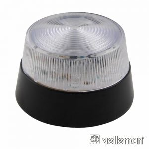 Flash Electrónico Transparente 15 LEDS VELLEMAN - (HAA40WN)