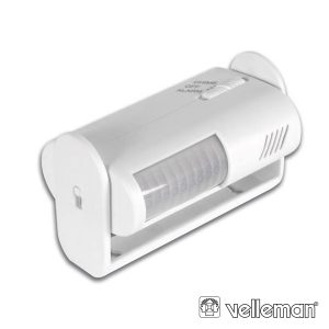 Detector De Movimentos Mini C/ Alarme VELLEMAN - (HAM1011)