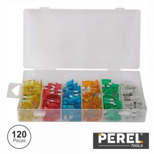 Caixa C/ Fusíveis Para Automóveis 5-30a 120x Perel - (HAS08)