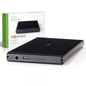 """Caixa P/ Discos Rígidos HDD 2.5"""" SATA II - (HDDE25200BK)"""