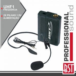 Microfone Headset S/ Fios P/ Trainy E Meety Uhf1 BST - (HEADSETTRAINY-UHF1)