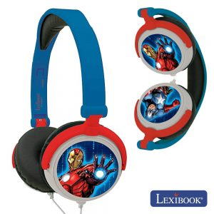 Auscultadores C/ Fios Stereo Avengers Lexibook - (HP010AV)