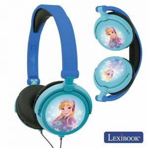 Auscultadores C/ Fios Stereo Frozen Lexibook - (HP010FZ)