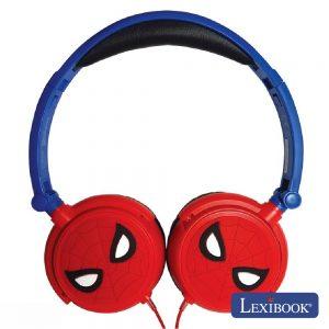 Auscultadores C/ Fios Stereo Spider Man Lexibook - (HP010SP)
