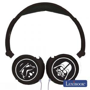 Auscultadores C/ Fios Stereo Star Wars Lexibook - (HP015SW)