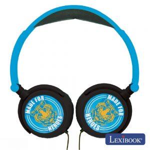 Auscultadores C/ Fios Stereo Heroes Lexibook - (HP017BLH)