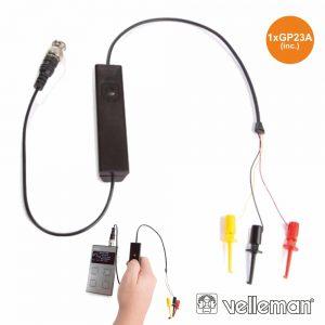 Testador De Componentes P/ Osciloscópio VELLEMAN - (HPS141)
