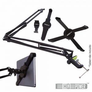 Suporte Universal Tablet/Smartphone Extensível De Bancada - (HQMS10006)