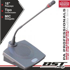 Microfone Condensador Delegado P/ Conferência Ajustável - (HT-8310D)
