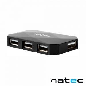 Hub USB 2.0 C/ 4 Portas NATEC - (NHU-0647)