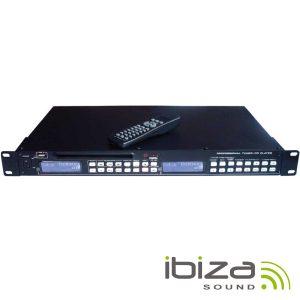 "Leitor Cd/USB 19"" 1u C/ Sintonizador AM/FM IBIZA - (INSTALLONE)"