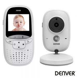 Intercomunicador Baby Phone S/ Fios LEDs Ir Bateria DENVER - (BC-245)