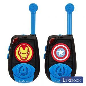 Intercomunicadores S/ Fios Iron Man Avengers Lexibook - (TW25AV)