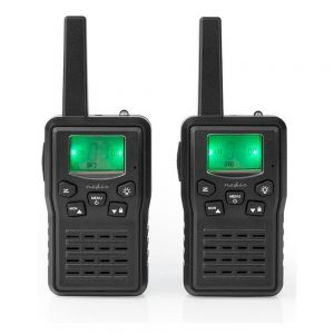 Intercomunicadores S/ Fios 10km 8 Canais NEDIS - (WLTK1010BK)