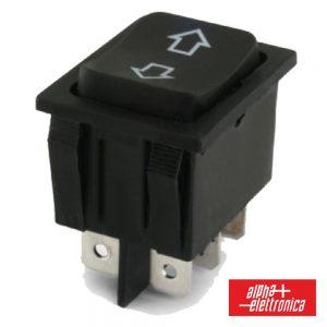 Interruptor Basculante 15a-250v Dpco (On)-Off-(On) C/ Setas - (320-013)