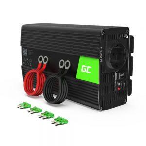 Conversor 12V-230V 1000W Onda Modificada GREEN CELL - (INV08)