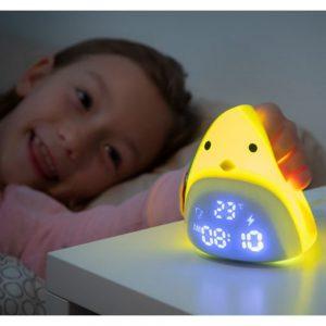 Relógio Despertador LED Tátil Recarregável - (INVG179)