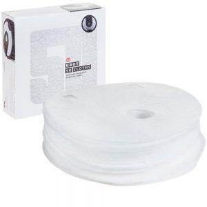 Conjunto 50 Panos Microfibras p/ Robô Mopa Inteligente - (INVG180)