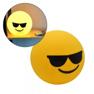 Lâmpada LED Forma Emoji - (INVGA279)