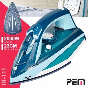 Ferro De Engomar A Vapor 2000W PEM - (IR-111)