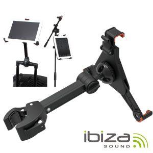 Suporte P/ Tablets E Ipad 26-64mm 360º IBIZA - (ISTAND2)
