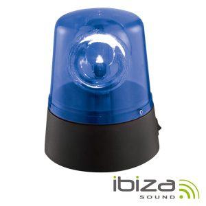 Pirilampo LEDS Rotativo 360º Azul IBIZA - (JDL008B-LED)