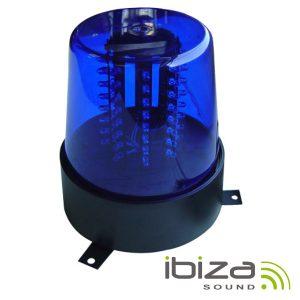 Pirilampo LEDS Rotativo 360º Azul IBIZA - (JDL010B-LED)