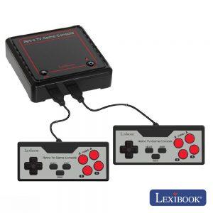 Consola Jogos P/ TV C/ Cabo Av 2 Comandos E 300 Jogos Arcade - (JG7800)