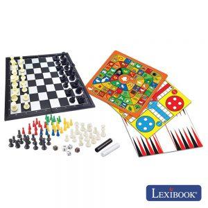 Conjunto de 8 Jogos de Tabuleiro LEXIBOOK - (JGM800)