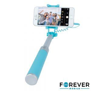 Vara Telescópica Monopod P/ Selfies C/ Ficha Jack 3.5mm - (JMP-200BL)