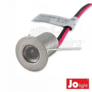 Foco LED 0.2W 12V 14mm Azul P/ Encastrar IP20 Jolight - (JO388/010B)