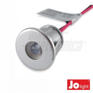 Foco LED 0.3W 12V 18mm 3000K P/ Encastrar IP20 Jolight - (JO388/020WW)