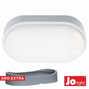 Painel LED Oval Aplique 14W Branco Natural - (JO397/041NW)