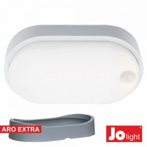 Painel LED Oval Aplique 14W Pir Branco Natural - (JO397/042NW)