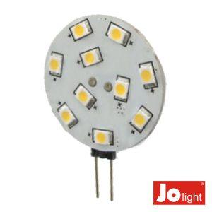 Lâmpada G4 2.2W 12V 10 LEDS Branco Quente Jolight - (JO506WW)