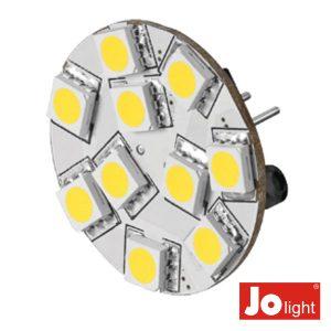 Lâmpada G4 2.2W 12V 10 LEDS Branco Frio Jolight - (JO507)