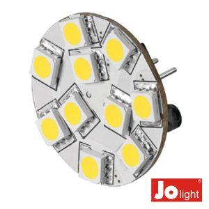 Lâmpada G4 2.2W 12V 10 LEDS Branco Quente Jolight - (JO507WW)