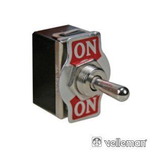 Comutador Alavanca Dpdt 2p On-On 10a/250v Modelo Económico - (JS-511BLC)
