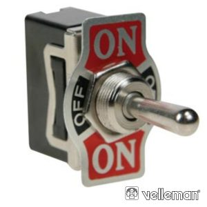 Interruptor Alavanca Dpdt 2p (On)-Off-(On) 10a/250v - (JS-511GLC)