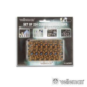 Conjunto De 224 Condensadores Cerâmicos - (K/CAP1)