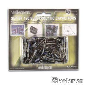 Conjunto De 120 Condensadores Electroliticos - (K/CAP2)
