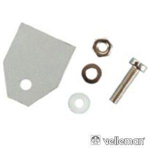 Kit De Isolamento Em Plástico P/ To3 VELLEMAN - (K/TO3P)