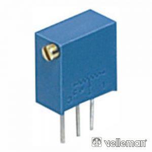 Potenciómetro De Ajuste Cermet Trimmer Multivolta 1k - (K001TX)