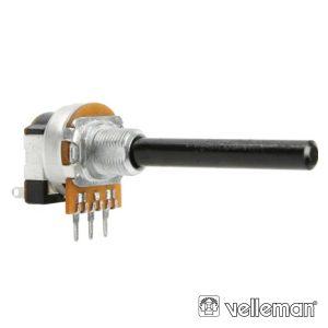 Potenciómetro Linear 10k Metalico Interruptor - (K010AMS)