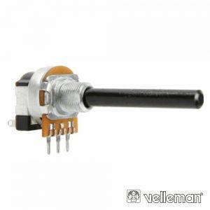 Potenciómetro Linear 100k Metalico Interruptor - (K100AMS)