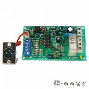 Kit Relé Controlado Por DMX - (K8072)
