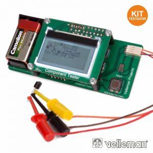 Kit P/ Teste De Componentes VELLEMAN - (K8115)